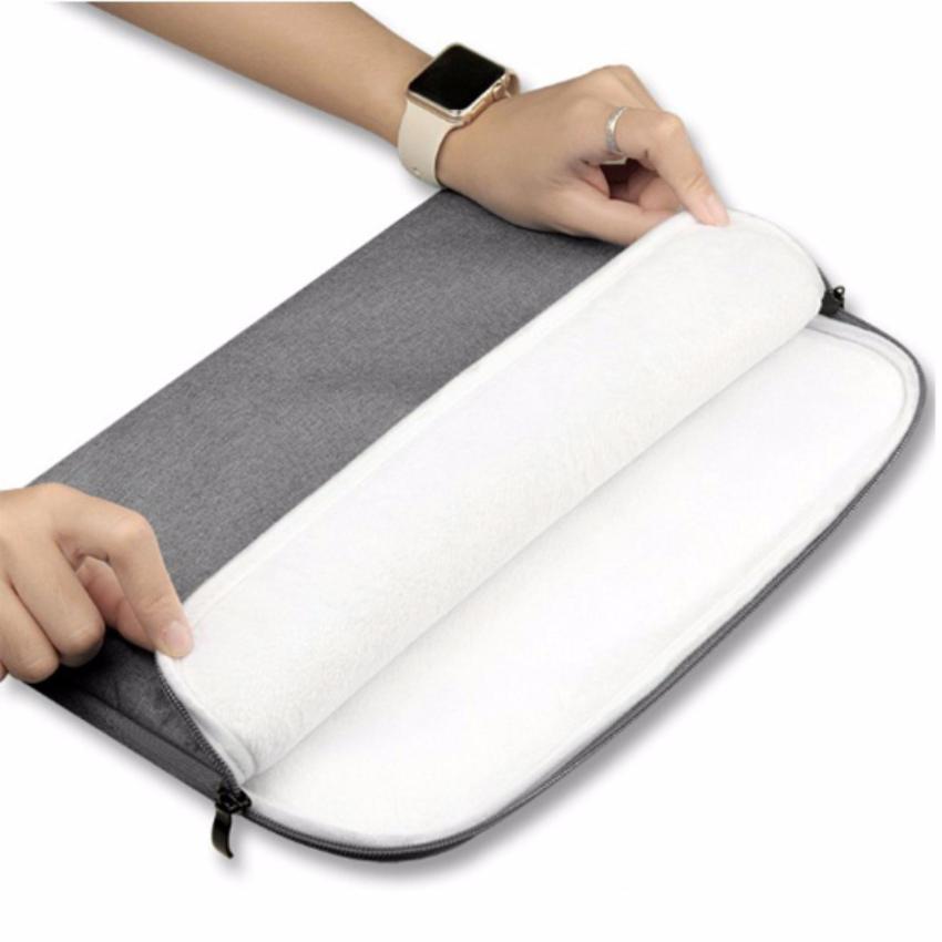 Túi chống sốc cho Macbook cao cấp 11 inch (Ghi xám)