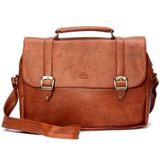 Túi đeo chéo LATA HL02 (Da bò đậm)