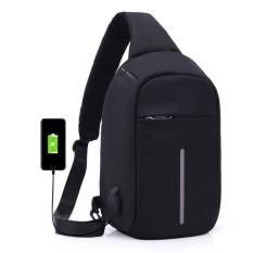 Túi đeo chéo phiên bản chống trộm vừa IPAD C203 (Màu đen)