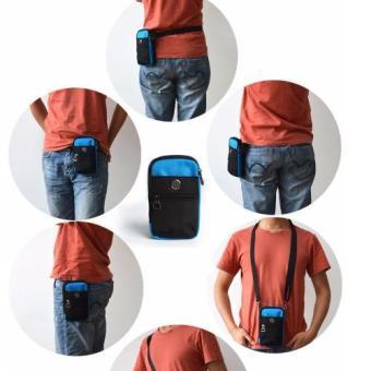 Túi đeo đai quần thắt lưng có móc khóa + Tặng dây Đeo chéo đa năngH142 - 2