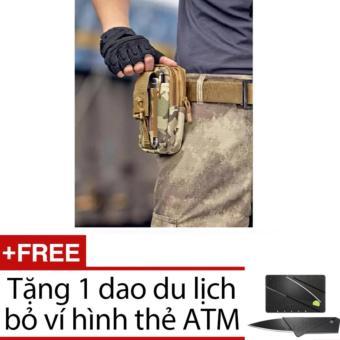 Túi đeo hông đi du lịch, đi phượt tặng 01 dao ATM