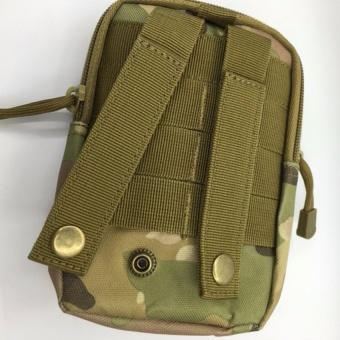 Túi đeo hông, thắt lưng đựng điện thoạ (Nâu xanh) - 2