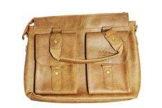 Túi đeo vai 2 ngăn ngoài PeepVN Togo (Nâu)
