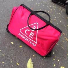 Túi du lịch có bánh xe kéo tiện lợi 3CE (Hồng) – Kmart