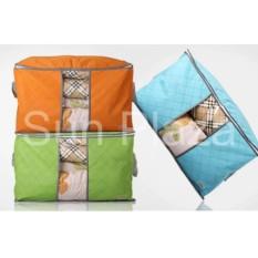 Túi đựng chăn màn quần áo – Túi đựng quần áo du lịch- Túi vải đựng đồ đa năng loại lớn nằm ngang | Sun Plaza