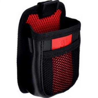Túi đựng điện thoại 3P Auto trên xe hơi TI249 (Đen phối Đỏ)