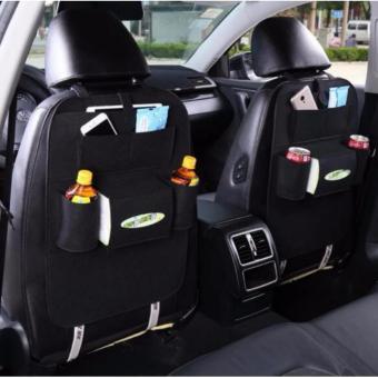 túi đựng đồ 6 ngăn tiện dụng đa năng trên ô tô (đen)
