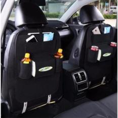 túi đựng đồ 6 ngăn tiện dụng đa năng trên ô tô (Màu kem và Đen) – Home and Garden