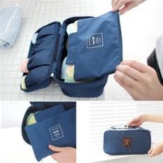 Túi đựng đồ lót đa năng Monopoly Underwear Pouch (Xanh Đen)