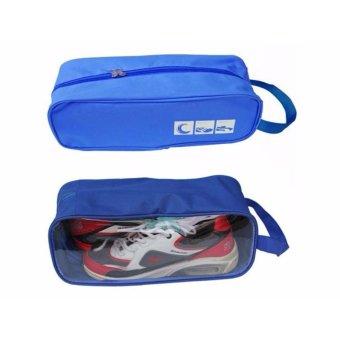 Túi đựng giày du lịch thể thao (Xanh)