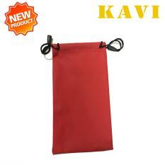 Nơi Bán Túi đựng kính cao cấp Kavi Chống Xước, Chống Nước, Bảo vệ 2 lớp, Tiện lợi khi mang theo (Đỏ)