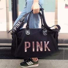 Túi xách du lịch PINK Cao Cấp (Đen)