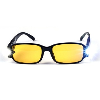 UINN Universal Reading Glasses Nano Magnetotherapy Resin Lens Presbyopic Glasses Yellow - intl
