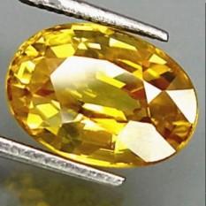 Đinh vàng uha Đá Quý Vàng Sapphire Hình Bầu Dục AAA Tự Nhiên Rời Đá Quý 10×14 mét Mới-quốc tế