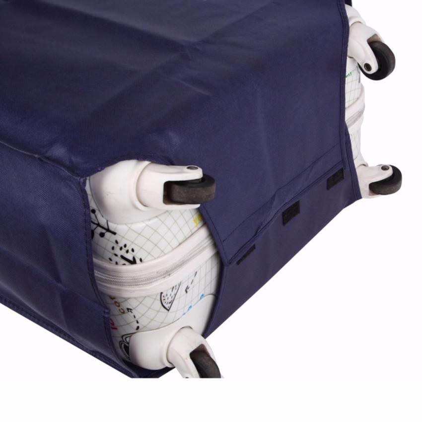Vải Bọc Vali Size 51x27x22cm (xanh đen 20)