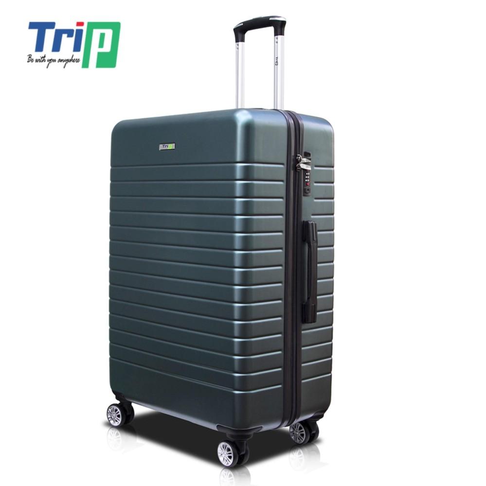 Vali Chống Trộm TRIP PC911 Size 70cm-28inch Xanh rêu