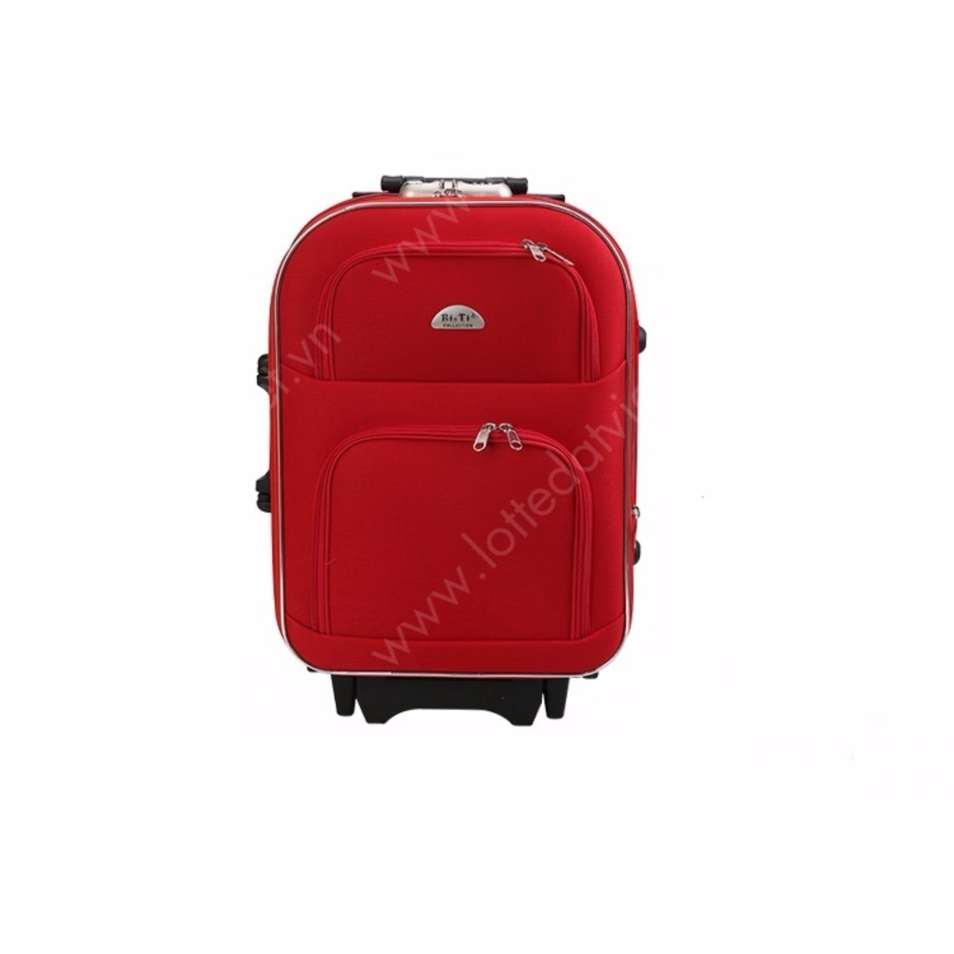 Vali du lịch kéo tay Bi&Ti 20 inch (Đỏ) 325