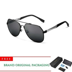Veithdia 2017 New Aluminum Alloy Frame Sunglasses Polarized Men Driving Sun Glasses Mirror Eyewear Accessories 3598 – intl