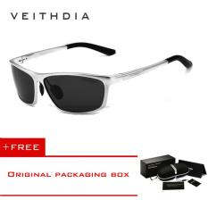VEITHDIA Men's Polarized Sunglasses Sunglass Eyewear Men Sun Glasses 6520