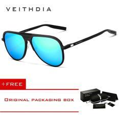 VEITHDIA Mens Aluminum Magnesium Sunglasses Polarized Eyewear Accessories Glasses For Men/Women V6850