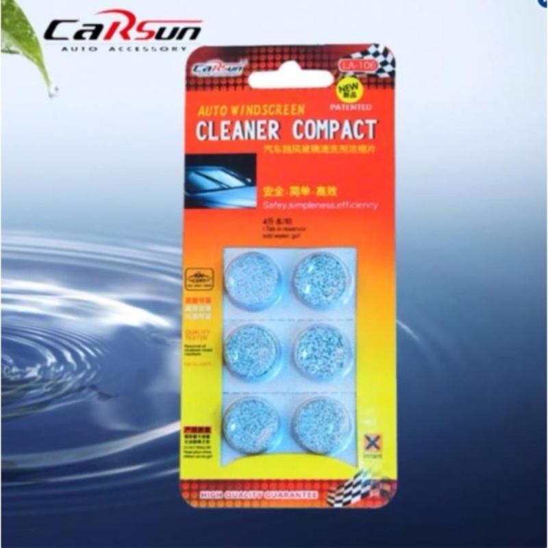 Vỉ 6 viên sủi nước rửa kính xe hơi CarSun