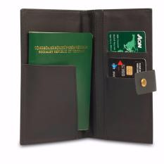 Ví da đựng Passport (Đen)