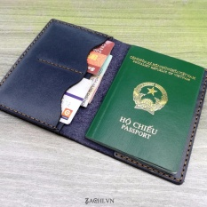 Ví passport da bò handmade