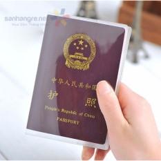 Vỏ bọc hộ chiếu PVC chống thấm nước xuất Nhật-GDTL P019