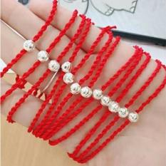 Vòng dây, vòng dây đỏ, vòng dây đỏ may mắn, vòng dây đỏ phong thủy, vòng dây đỏ kèm cham, vòng tay bạc nữ gắn đá, vòng tay bạc ,lắc tay bạc nữ giá rẻ, vòng tay bạc nữ ,vòng tay bạc nữ đẹp,vòng tay bạc giá rẻ, trang sức Bạc QTJ
