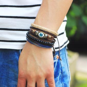 Vòng tay bộ 4 cái biểu tượng mắt thần horus BR33