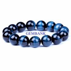 Vòng Tay Đá Blue Opal Tự Nhiên Size Lớn 13mm GEMSTONE BANK