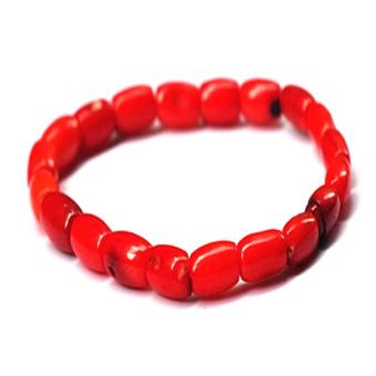 Vòng tay đá san hô đỏ HỘ MỆNH