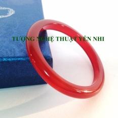 Vòng tay Mã não thiên nhiên tròn (đỏ) – đường kính 40-50mm
