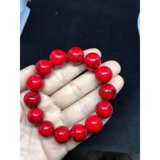 vòng tay san hô đỏ.14ly