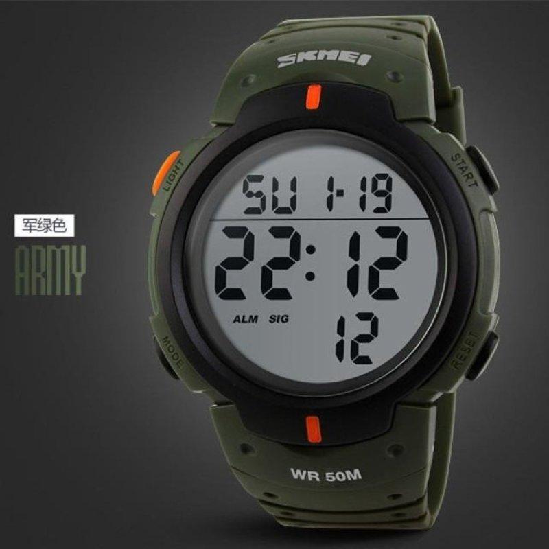 Nơi bán Waterproof Outdoor Sports Watch(Army Green�(Not Specified)(OVERSEAS) - intl