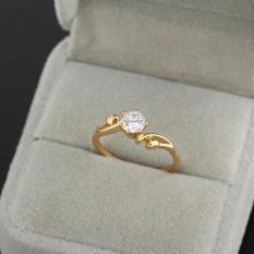 Đám cưới Nhẫn 18 k Vàng Lấp Đầy (Quốc Tế)