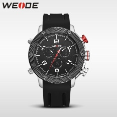 Giá Khuyến Mại WEIDE Men's Watches Military LCD Digital Date Watches Sports Waterproof Black – intl   Nest9