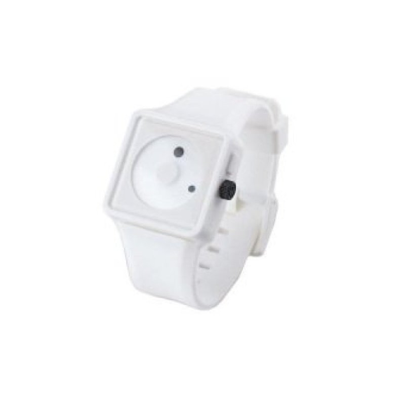 Nơi bán WSJ Silicone BandWrist Watch (White)(Not Specified)(OVERSEAS) - intl