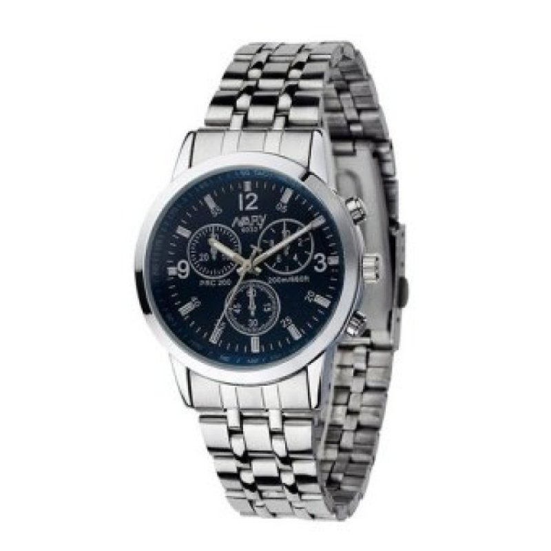 Nơi bán WSJ Stainless Steel Sport Wrist Watch (Blue)(Not Specified)(OVERSEAS) - intl