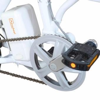 Xe đạp điện gấp thông minh airwheel R3 (trắng)