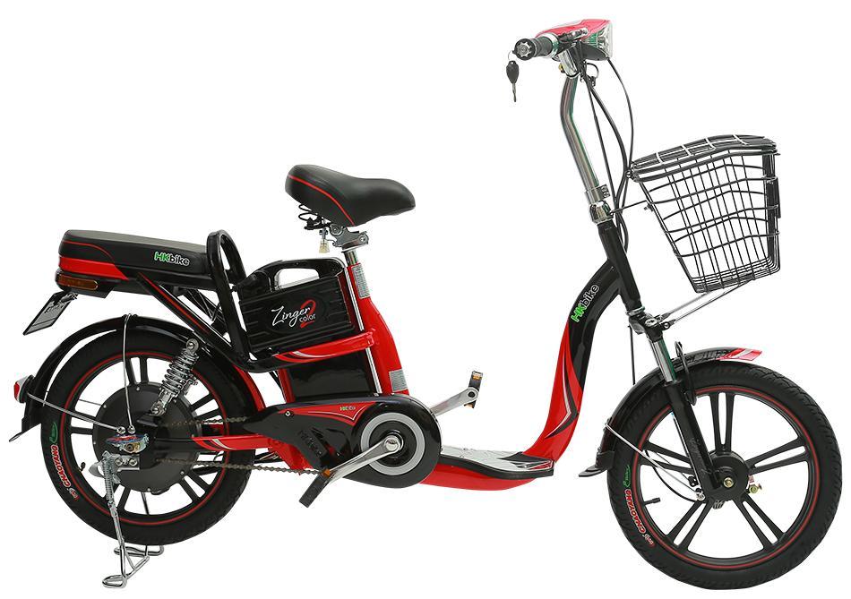 Xe điện Zinger Color2 (Đỏ đen)