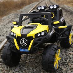 Xe ô tô điện trẻ em DLX - 6688 (4 động cơ lớn)(Tặng ô tô biến hình tự động)