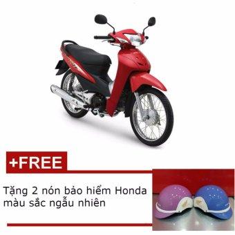 Xe số Honda Wave Alpha 110 - Đỏ đen bạc + Tặng 2 nón bảo hiểm Honda mà...