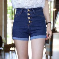 Quần Shorts Jeans Nữ Lưng Cao 4 Nút Thời Trang Mway WM SHORTS 800017 LTN