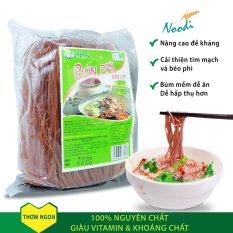 [Siêu tiết kiệm]Combo 3 gói Bún gạo lứt huyết rồng giàu dinh dưỡng, bún gạo lứt giảm cân giàu vitamin, bún gạo lứt nguyên chất mềm dễ ăn dễ hấp thụ chất dinh dưỡng