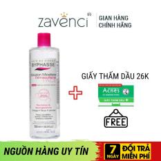 Nước tẩy trang Byphasse Micellar- Zavenci, không cồn, không gây khô căng da sau dùng. Giúp lỗ chân lông sạch thoáng, ngăn ngừa mụn