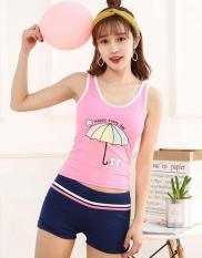 Đồ Bơi Nữ Xinh Cho Teen FreeSize Từ 30Kg-40Kg HLAT124 Hoa Lan