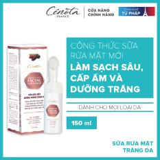 Sữa rửa mặt trắng da Cénota Whitening Facial Cleanser 150ml
