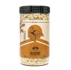 Yến mạch DK HARVEST Nhập Khẩu Australia 450g ( Cán Mỏng ) – yến mạch tươi ăn liền nguồn cung cấp chất xơ tốt, đặc biệt là beta glucan và rất giàu các vitamin, khoáng chất và chất chống oxy hóa