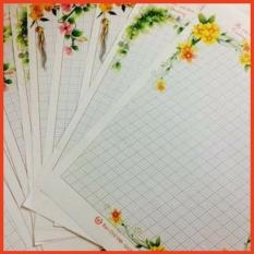 10 tờ giấy viết thư, luyện chữ đẹp